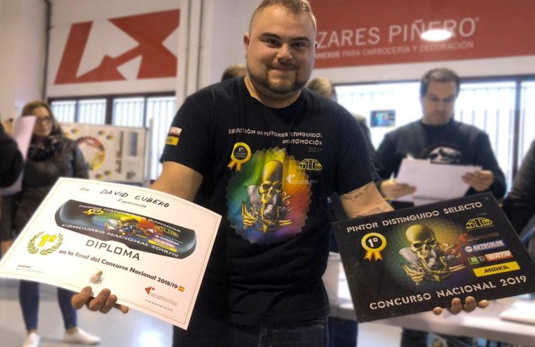 David Cubero el primer campeon del Concurso Nacional de Pintores Distinguidos en Automocion 768x499 - David Cubero, primer campeón del Concurso Nacional de Pintores Distinguidos en Automoción