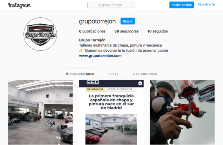 Descubre nuestra cuenta de Instagram