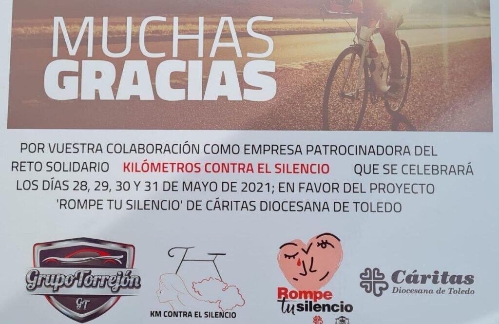 KM contra el Silencio agradece a Grupo Torrejon su participacion en el reto solidario 5 1024x665 - KM contra el Silencio agradece a Grupo Torrejón su participación en el reto solidario